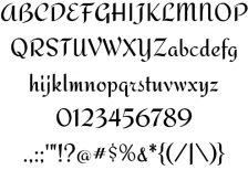 free-design-font-redressed