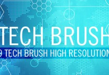 free-tech-world-map-brushes
