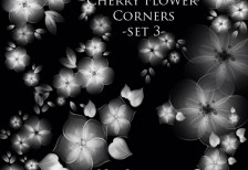 free_cherry_flower_corners