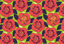 free_cute_roses_illustratin_pattern