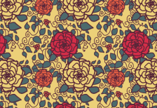 free_girly_roses_illustratin_pattern
