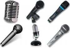 free_real_microphones_icons