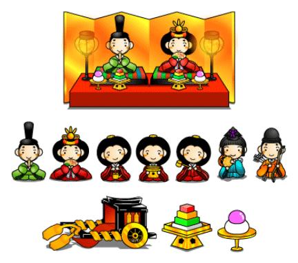 画像 : 【ひな祭り】かわいい ... : かわいい雛人形 : すべての講義