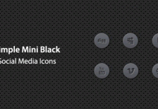 simple-mini-black-social-media-icons