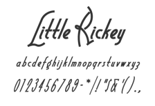 free-fashion-font-little-rickey
