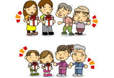 free-illustration-respect-for-the-aged-day-family