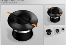 free-icon-silk-hat-stick