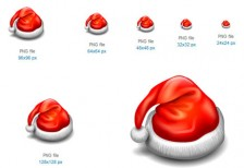 free-icons-christmas-santa-claus-hat