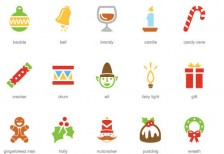 free-vector-icons-festive-christmas
