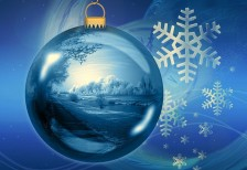 free-illustration-blue-christmas-ball