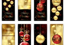 free-illustration-golden-christmas-cards