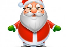 free-illustration-icon-gradation-santa-claus