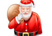 free-illustration-icon-real-santa-bust