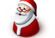 free-illustration-icon-santa-claus-bust