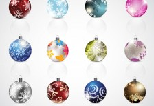 free-illustration-icons-beautifle-christmas-baubles