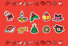 free-illustration-icons-cute-christmas-candies