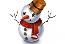 free-illustration-winter-snowman