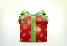 free-vector-illustration-merry-christmas-present
