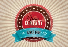 free-vector-vintage-company-badge