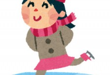 free-illustration-ice-skate-girl