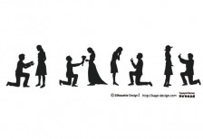 free-illustration-propose-silhouette