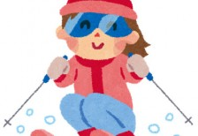 free-illustration-snow-ski-girl