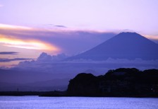 free-photo-fuji-sunset