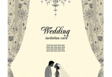 free-vector-illustration-white-wedding