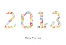 new-year-card-2013-colorful-stamp