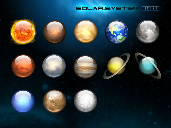 desktop solar system model - photo #17