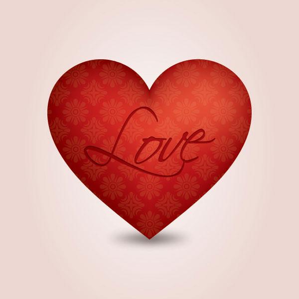 LOVEの象徴ハートマーク