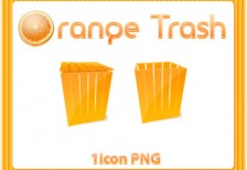 free-icons-orange-trash