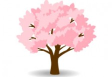 free-illustration-icon-sakura-tree