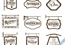 free-vector-vintage-store-signs