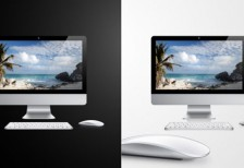 free-psd-apple-imac-product-vector