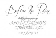 free-calligraphic-font-before-the-rain