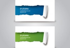 free-template-ripped-business-cards