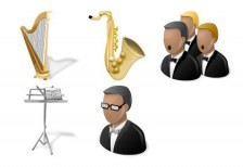 free-illustration-icons-orchestra
