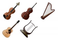 free-illustration-icons-stringed-instruments