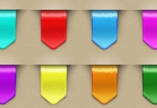 free-psd-9-colorful-web-ribbons