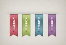 free-psd-colorful-ribbons