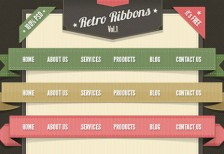 free-psd-retro-ribbons-label