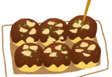 free-illustration-food-takoyaki