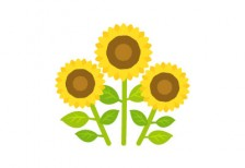 free-illustration-summer-3sunflower