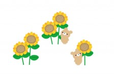 free-illustration-summer-sunflower-animals