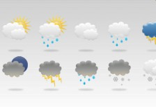 free-psd-weathericons