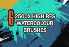 free-brushes-watercolour-qbrushes