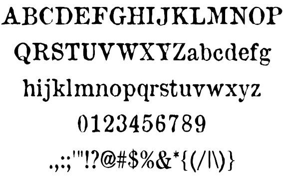セリフ (文字) - Serif - JapaneseClass ...