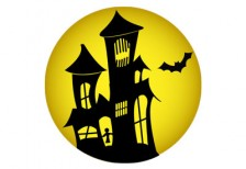 free-illustration-icon-haunted-house
