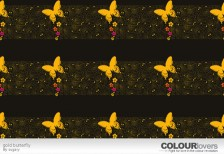 free-pattern-gold-butterfly